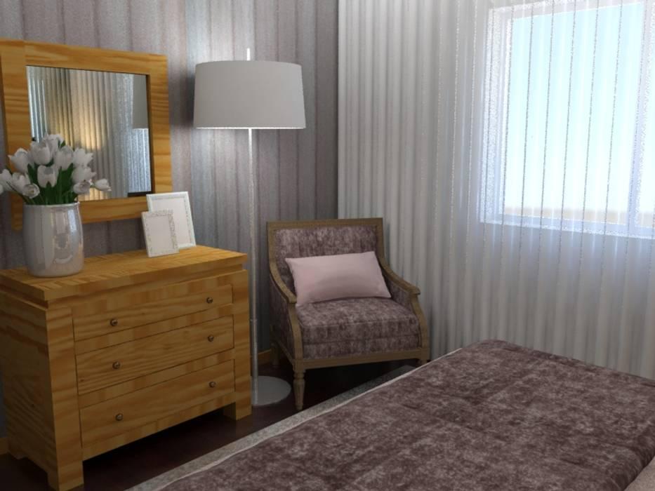 Kamar Tidur oleh Palma Interiores, Modern