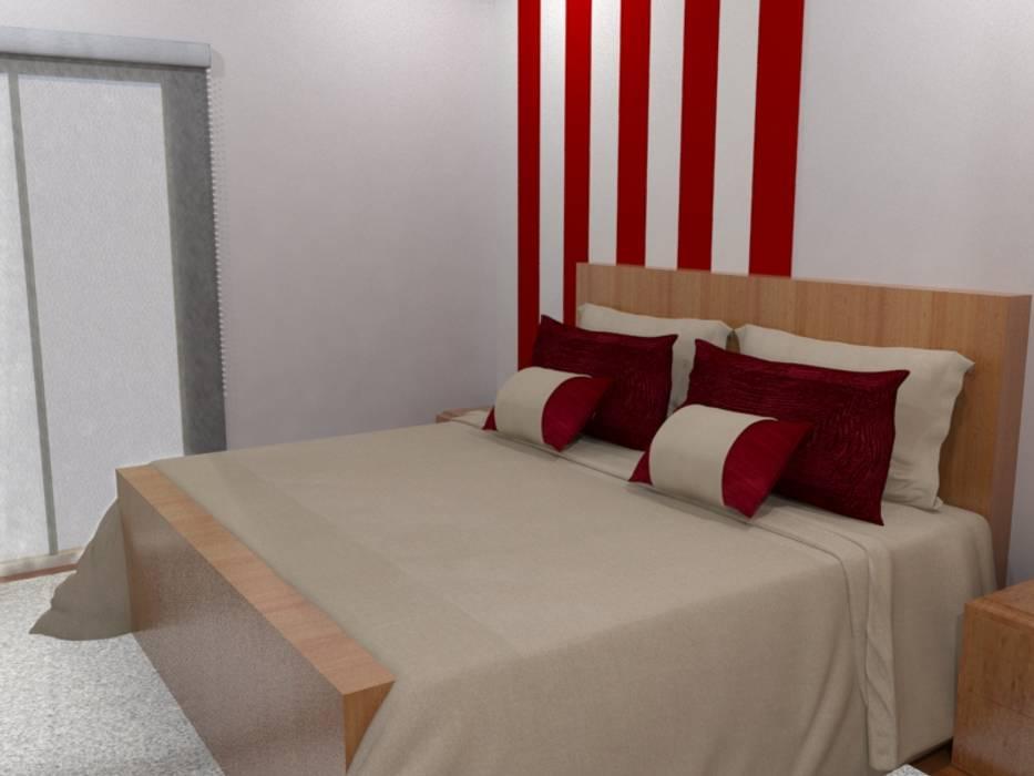 Quarto Duplo: Hotéis  por Palma Interiores,