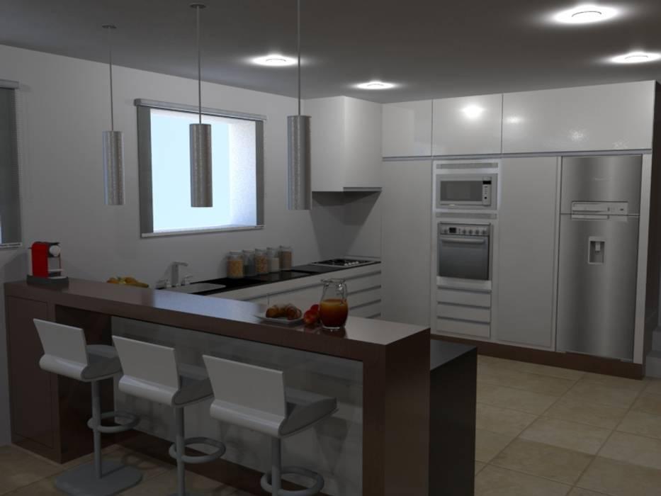 廚房 by Palma Interiores, 現代風