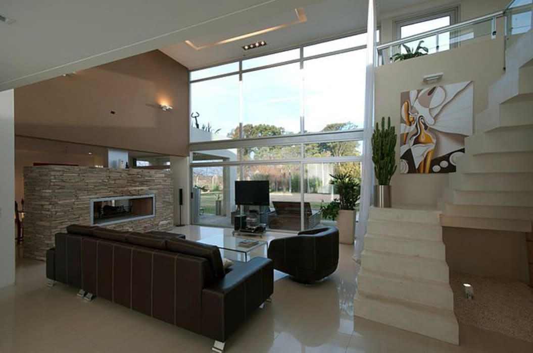 Casa O Estudio PM Livings modernos: Ideas, imágenes y decoración
