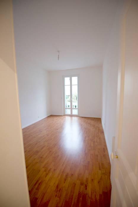 Appartement classique Nice 150m2: Chambre de style  par Blue Interior Design