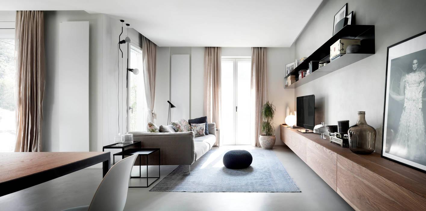 StudioCR34 Livings de estilo minimalista