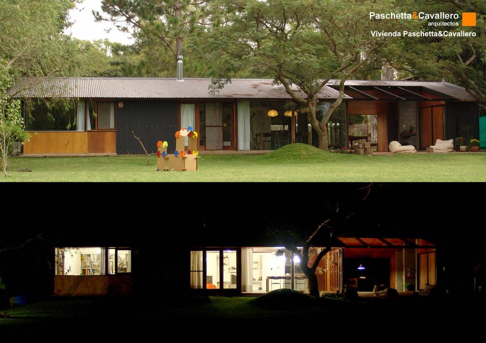 Vivienda Paschetta&Cavallero: Casas de estilo  por Paschetta&Cavallero Arquitectos