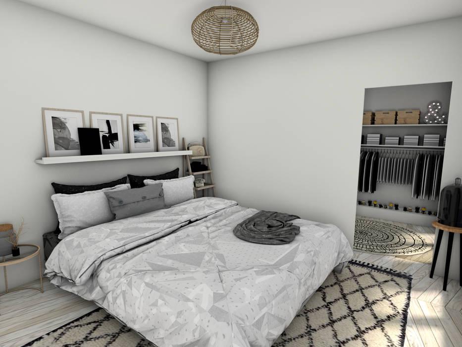 Suite parentale chambre moderne par dem design moderne | homify