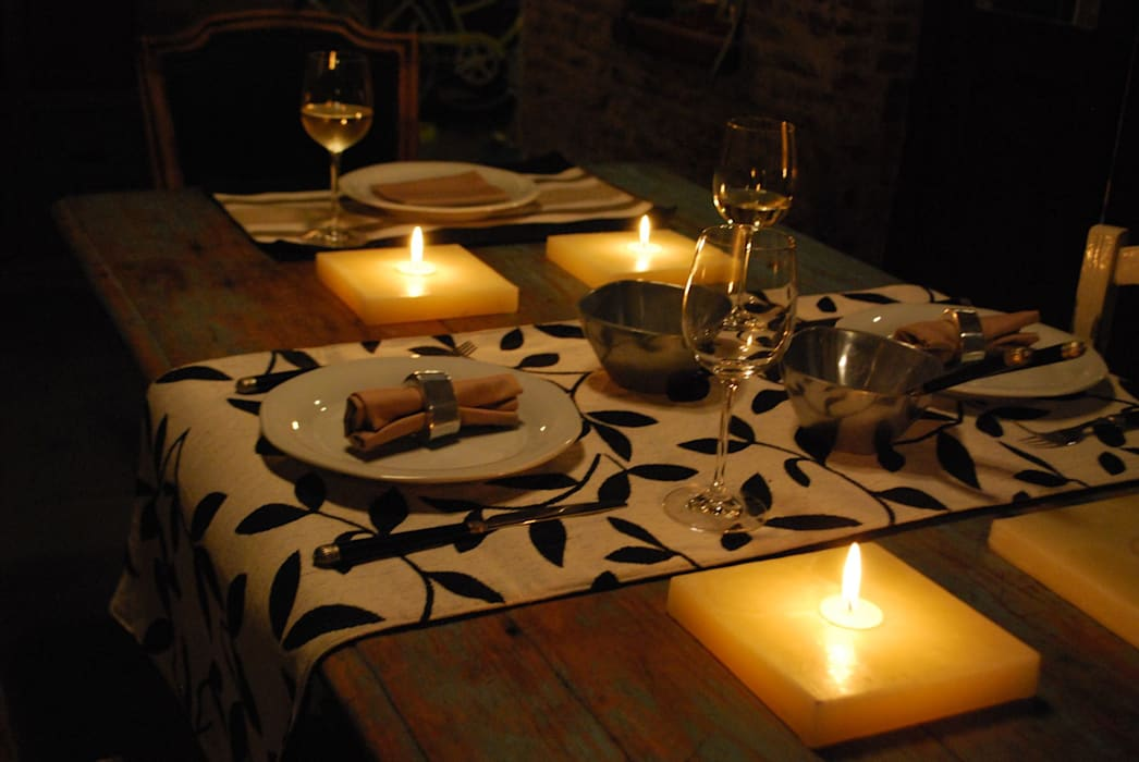 Individuales y Caminos de Mesa.: Comedores de estilo  por protocolo criollo®