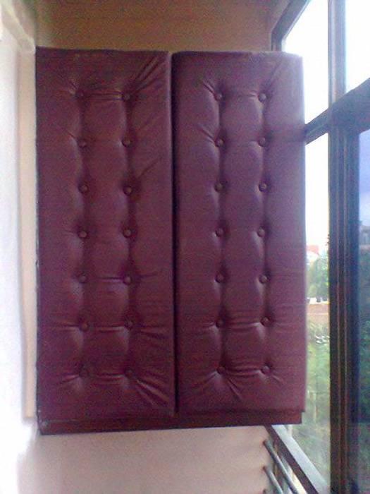 Bar Counter in navi mumbai project: modern  by Alaya D'decor,Modern Leather Grey