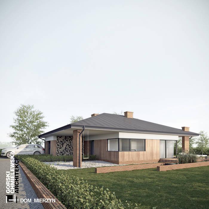 Maisons modernes par GÓRSKI CHMIELEWSKA ARCHITEKCI Moderne