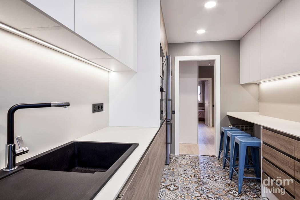 クラシックデザインの キッチン の Dröm Living クラシック