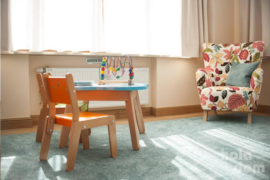 Modern nursery/kids room by HOLADOM Ewa Korolczuk Studio Architektury i Wnętrz Modern