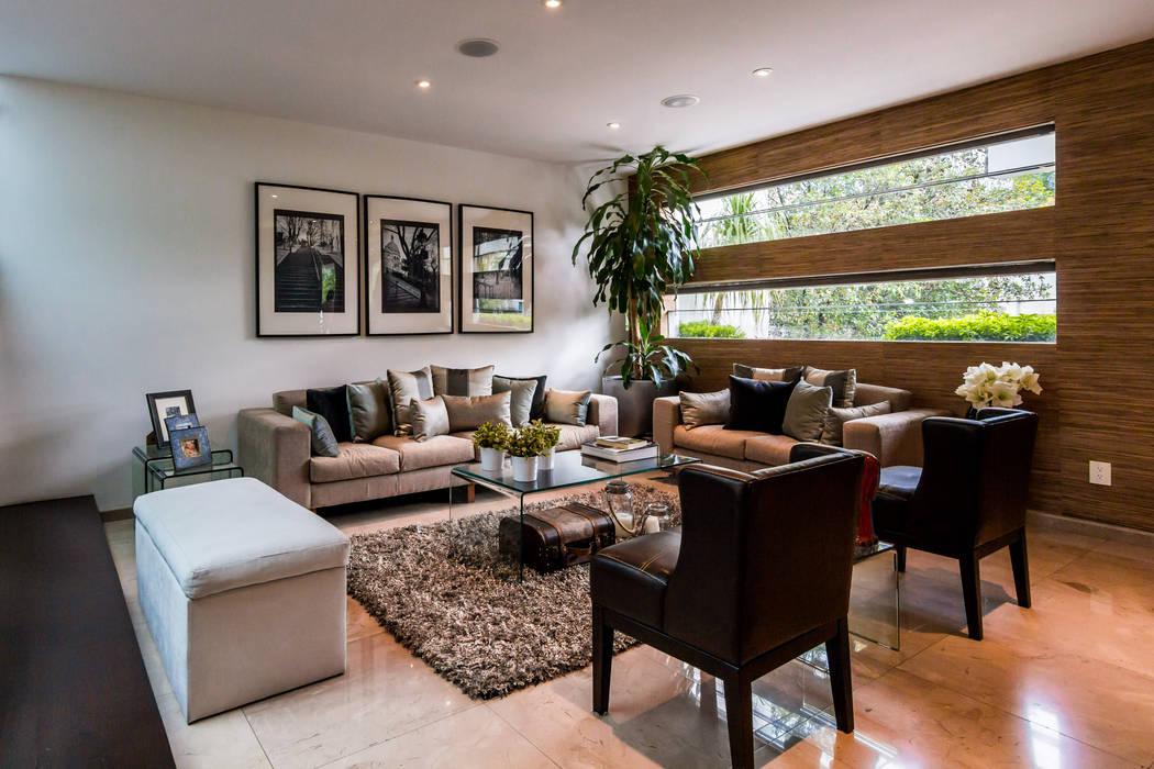 Living room by aaestudio, Modern