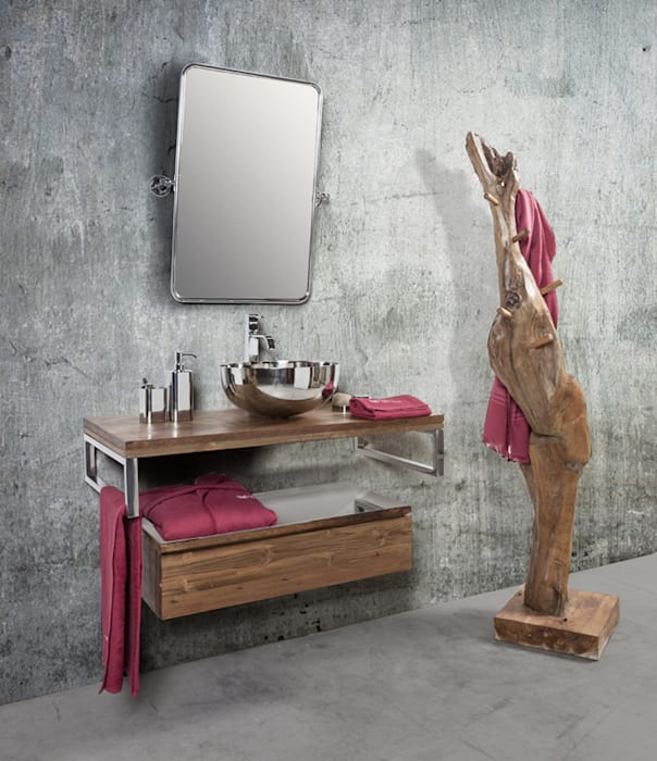 The Essenza - CIPI' DESIGN: Bagno in stile in stile Tropicale di Ceramiche Addeo