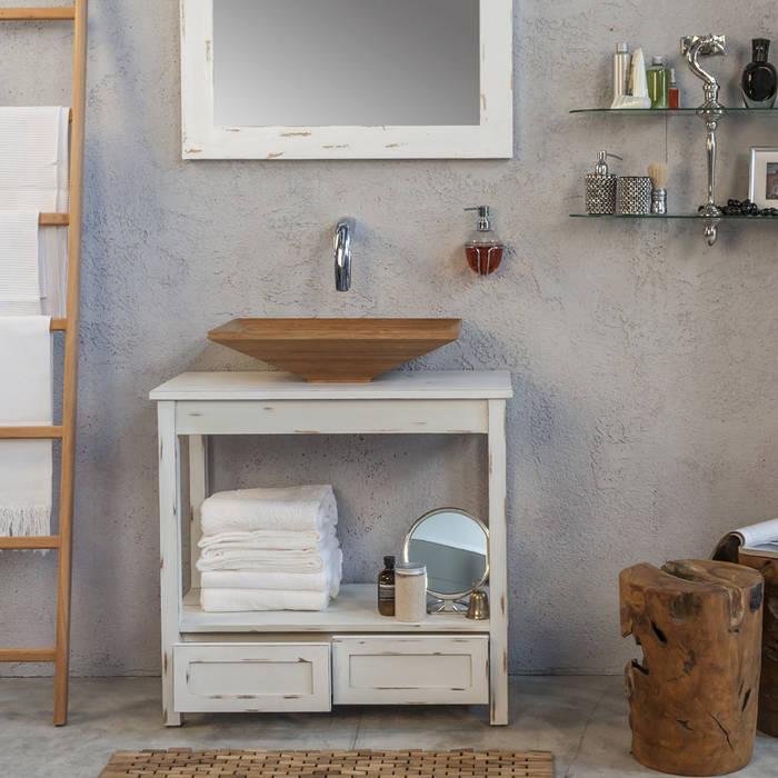 Ванные комнаты в . Автор – Ceramiche Addeo, Лофт