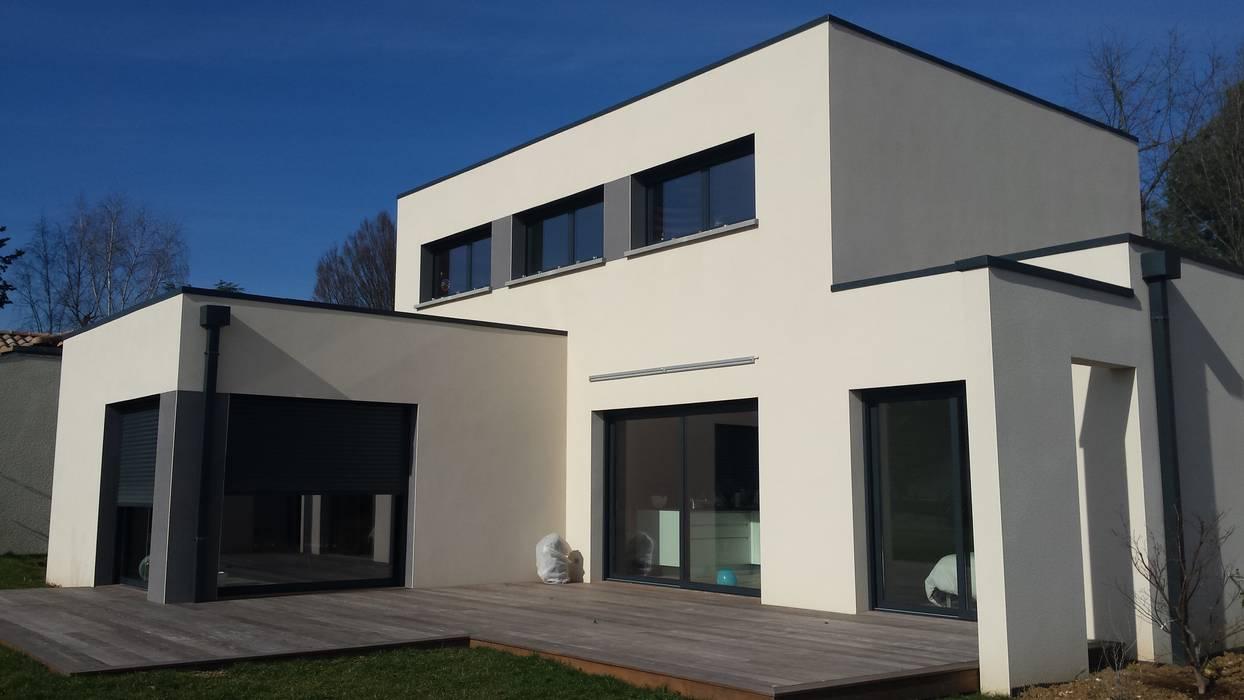Projet maison Concept Création Jardin moderne par Concept Creation Moderne