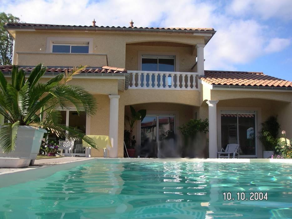 Projet maison avec piscine Lentilly Piscine moderne par Concept Creation Moderne
