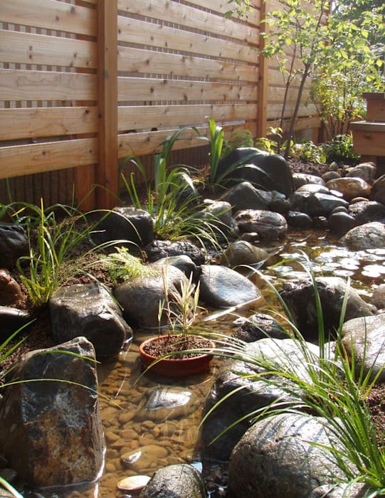 Garden by jardinier Kirikui, Eclectic