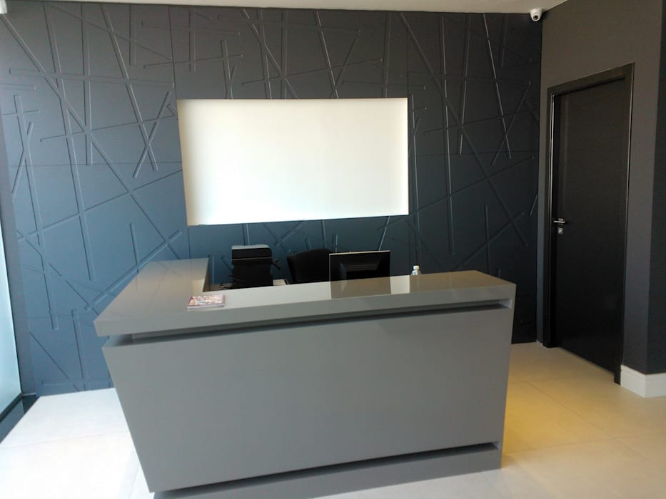 Loja Architetto Modern Study Room and Home Office