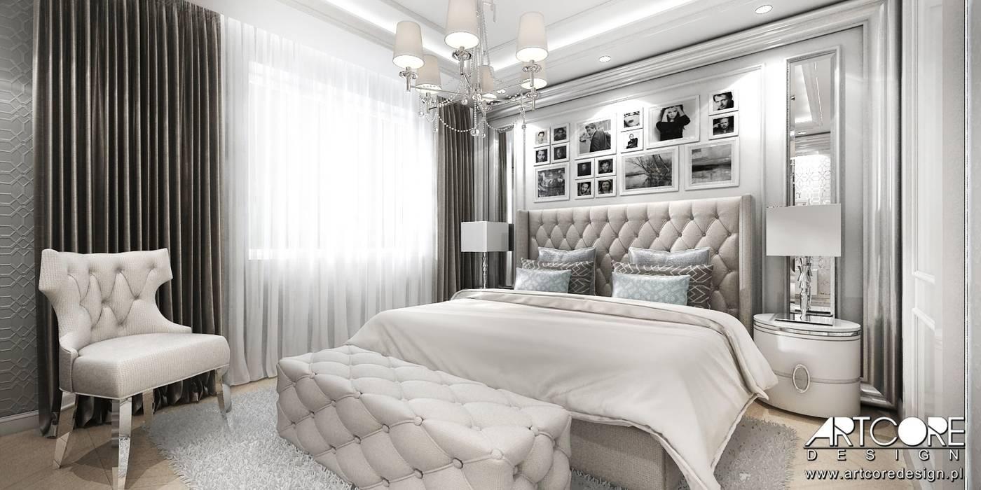 Chambre classique par ArtCore Design Classique