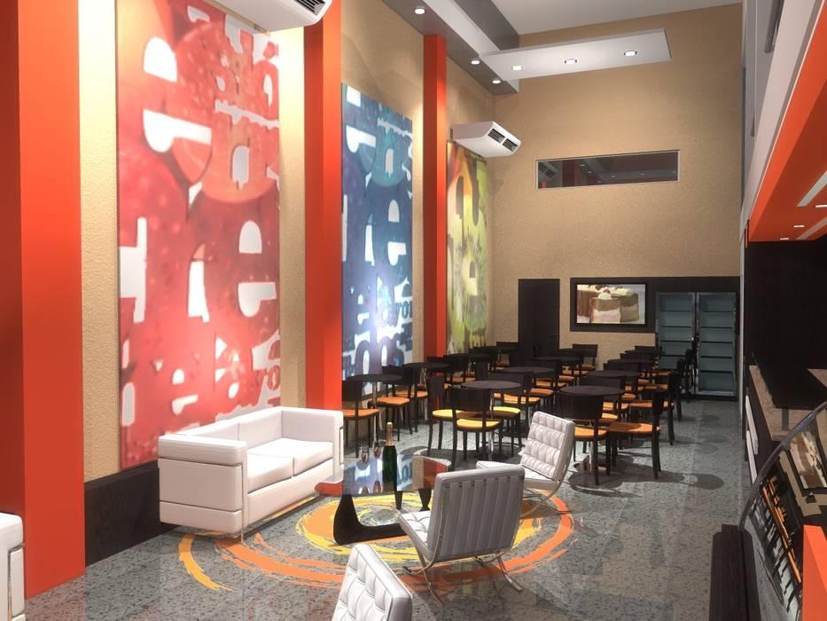 Imágen Fotorrealistica - Proyecto Bares y clubs de estilo moderno de Vision Digital Architecture Moderno