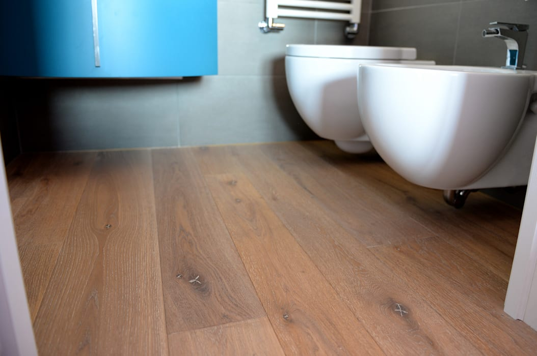 HAPPYLEGNO Modern walls & floors Wood