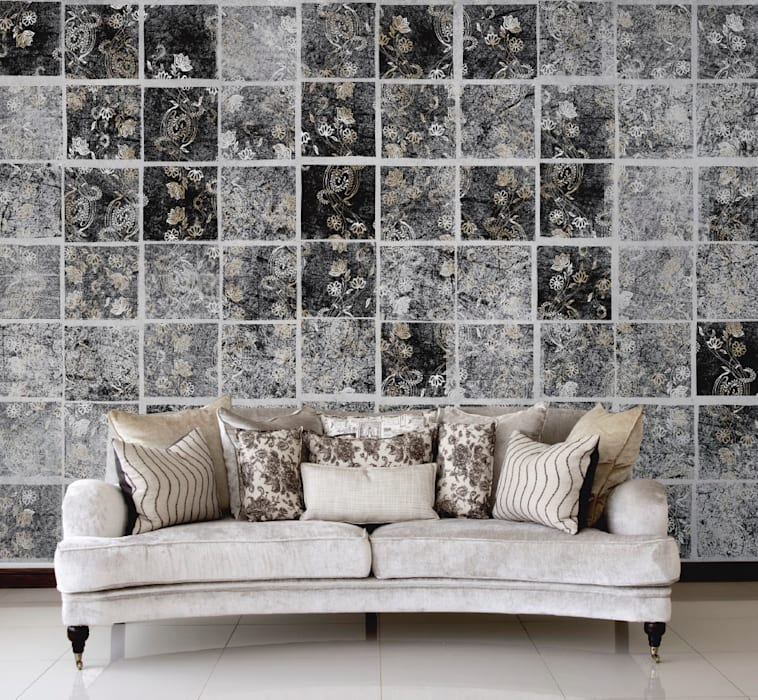 Walls & flooring by Wzorywidze.pl,