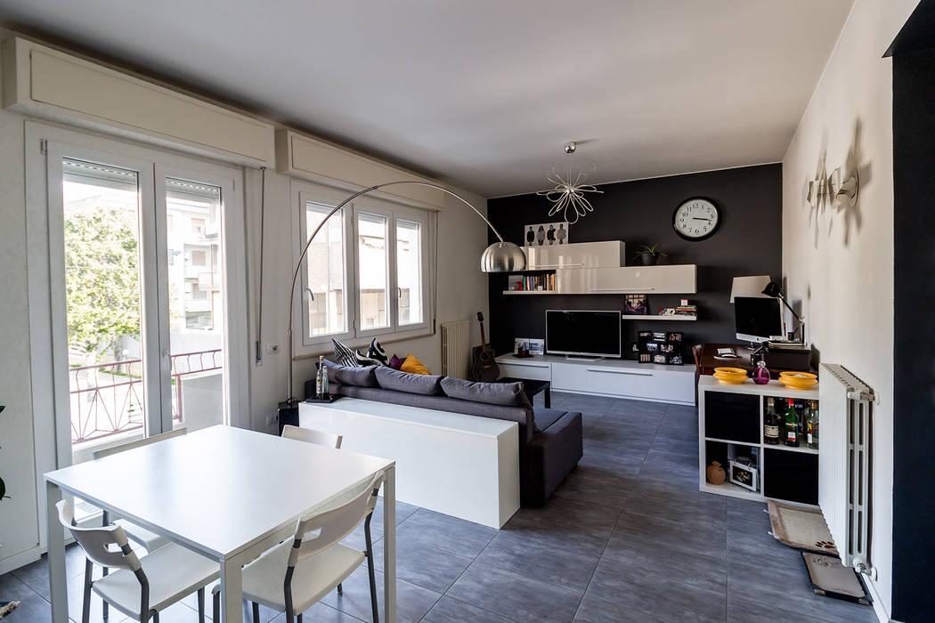 Soggiorno open space soggiorno moderno di bartolucci ...