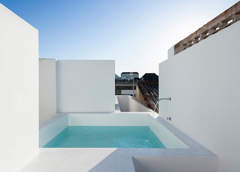 Terrace by Estudio ODS, Minimalist