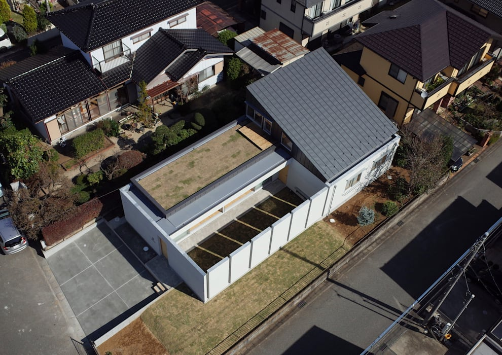 南西鳥瞰 モダンな 家 の アトリエ24一級建築士事務所 モダン
