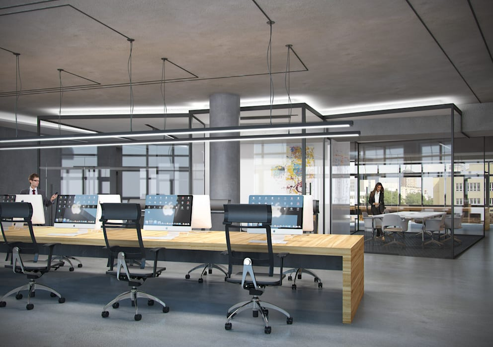 INCUBE Алексея Щербачёва Offices & stores