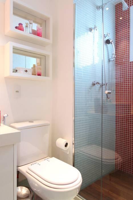 Campo Belo Banheiros modernos por MeyerCortez arquitetura & design Moderno