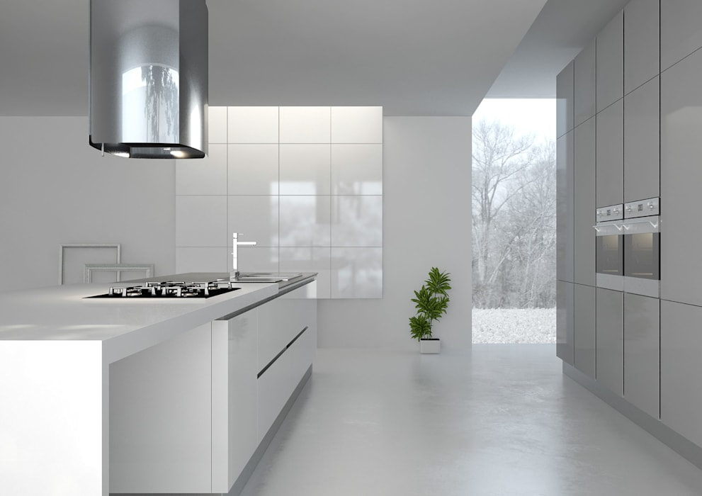 Paredes y suelos de estilo minimalista de Inmateria Minimalista