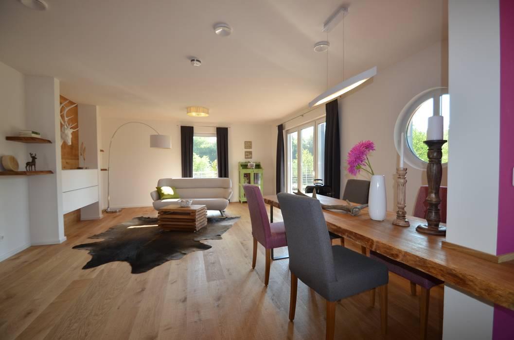 Beleuchtung wohn- & essbereich : ausgefallene wohnzimmer von licht ...
