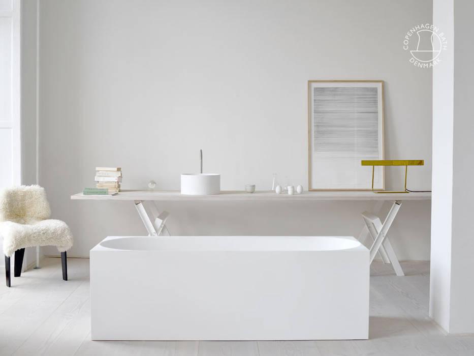 SQ1 bathtub od Copenhagen Bath Skandynawski