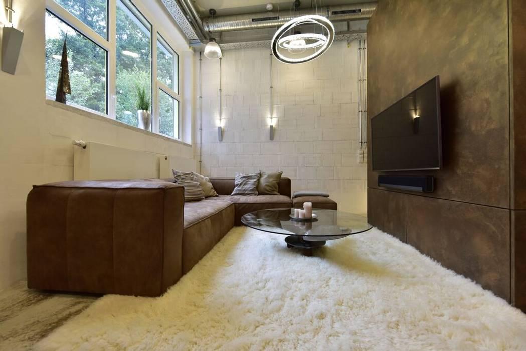 Exklusive Und Innovative Loft Wohnung Wohnzimmer Von Raum In Form