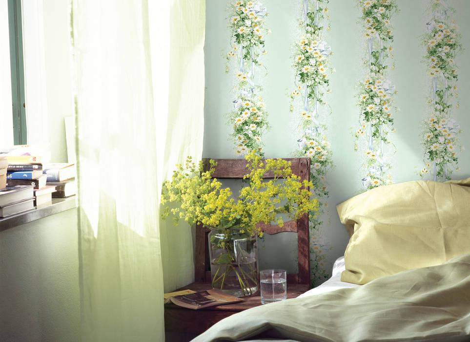 """HannaHome Dekorasyon  – Maceracı, romantik ya da klasik """"Bonjour"""" ile her mekan """"siz"""":  tarz Duvar & Zemin"""
