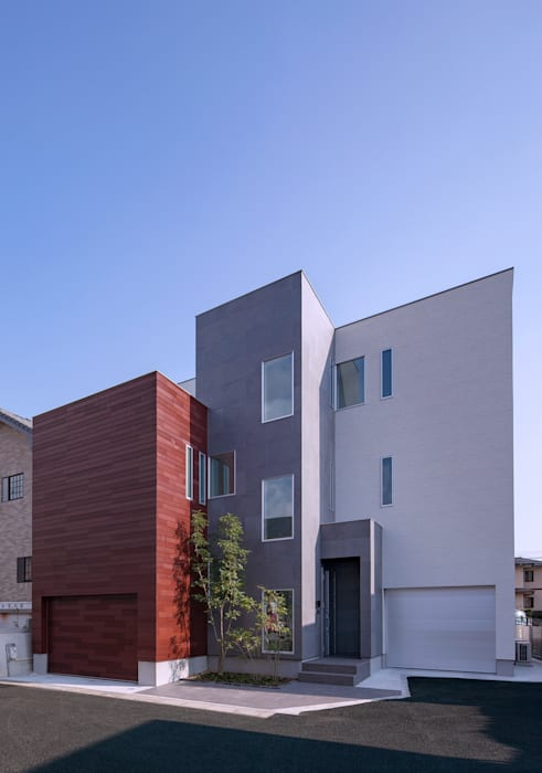 Maisons modernes par Architect Show Co.,Ltd Moderne