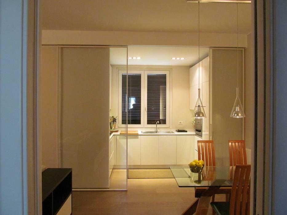 Kitchen by Architetto Alberto Colella