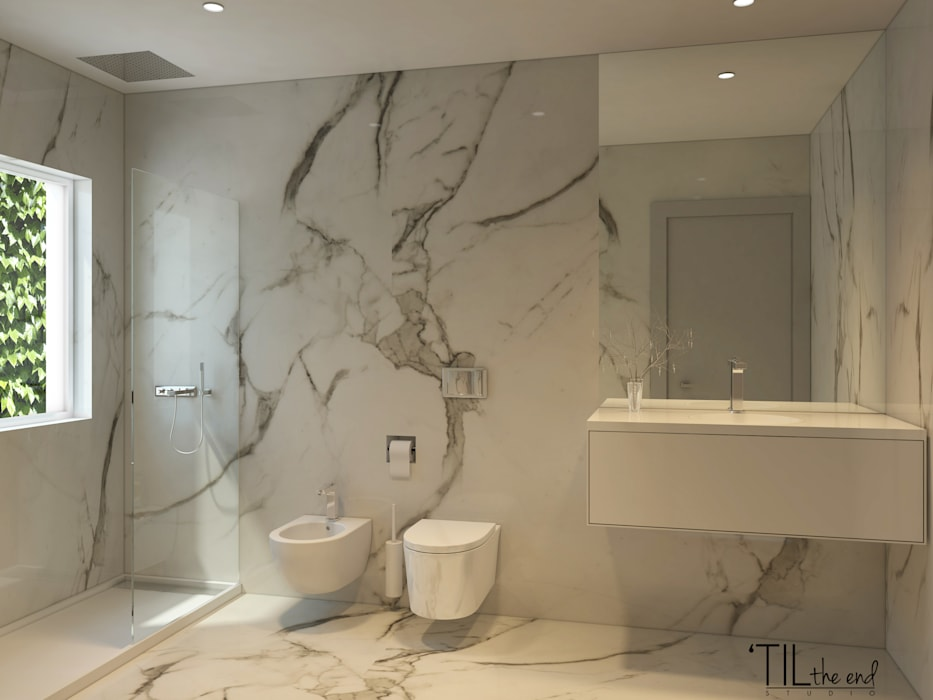Moderne Badezimmer von Lagom studio Modern Marmor