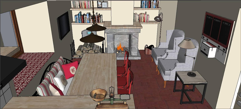 Cozinhas campestres por PLATZ Campestre Madeira Acabamento em madeira