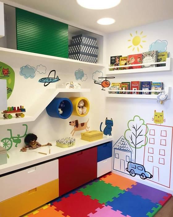 Apartamento Cidade Jardim II: Quarto infantil  por Duplex Interiores