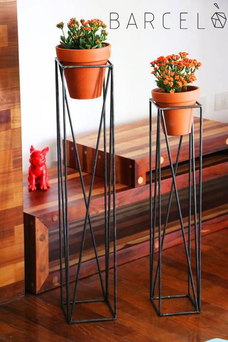 de estilo industrial por Barcelò. diseño en hierro, Industrial Hierro/Acero