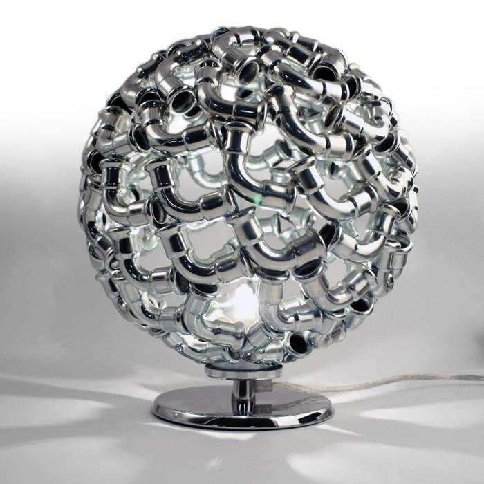 EUROTUBI DESIGN HouseholdAccessories & decoration Iron/Steel Metallic/Silver