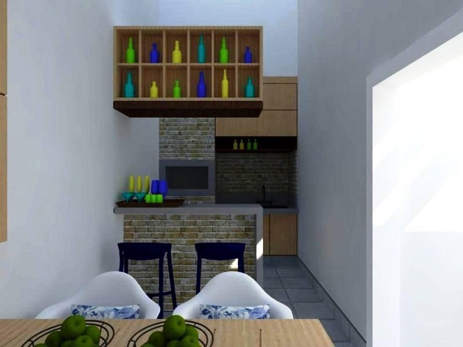 Rustieke Garage van Nádia Catarino - Arquitetura e Design de Interiores Rustiek & Brocante Hout Hout
