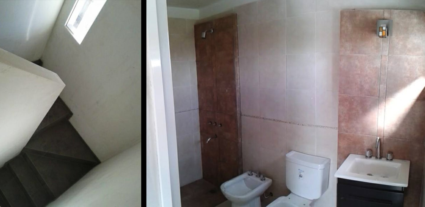 Modern Bathroom by ELVARQUITECTOS Modern