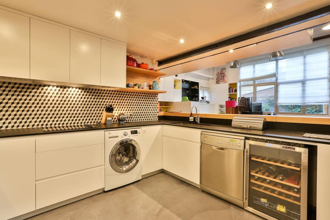 現代廚房設計點子、靈感&圖片 根據 LUSIARTE 現代風
