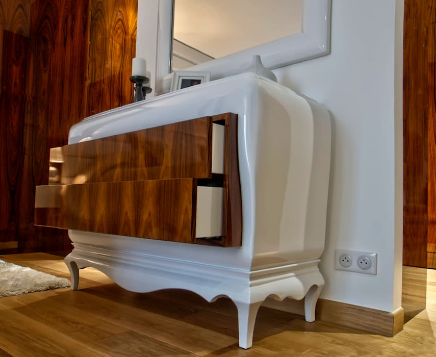 Commode chambre: Salon de style  par LUSIARTE