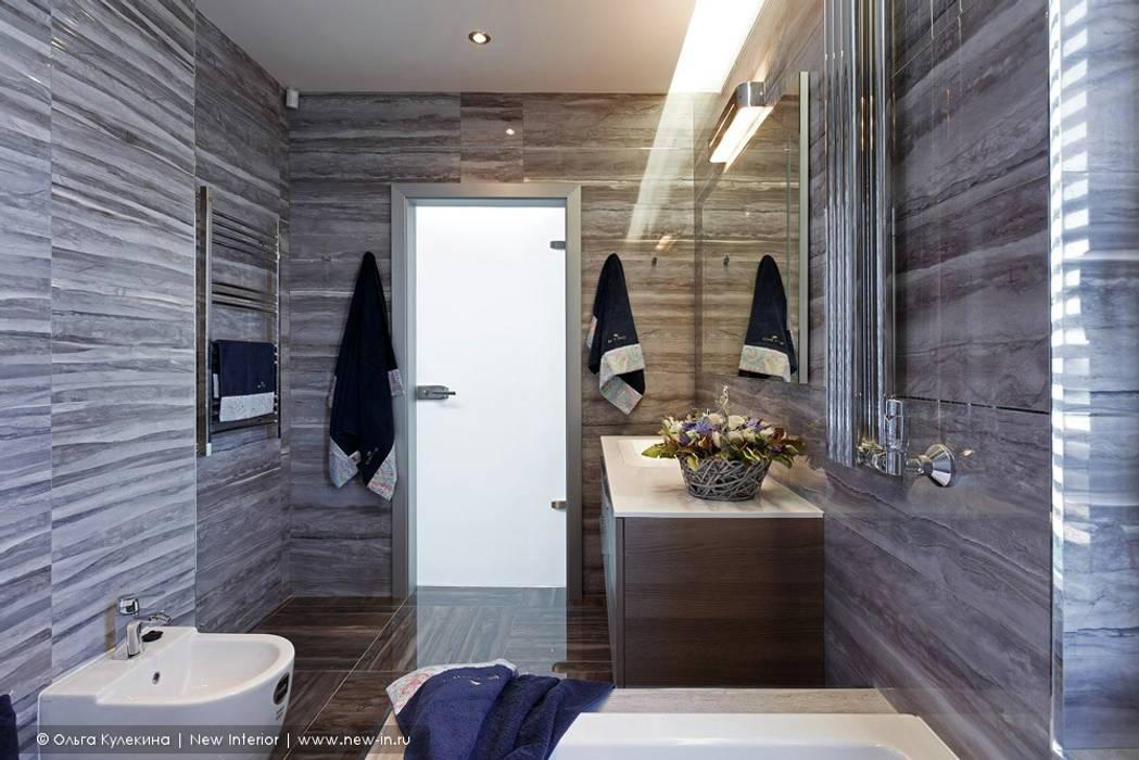 Baños de estilo escandinavo de Ольга Кулекина - New Interior Escandinavo