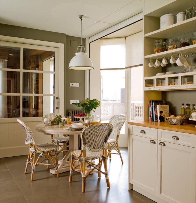 Cuisine classique par DEULONDER arquitectura domestica Classique Bois Effet bois