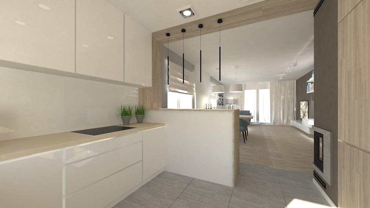 Modern Kitchen by Gil Architekci Modern