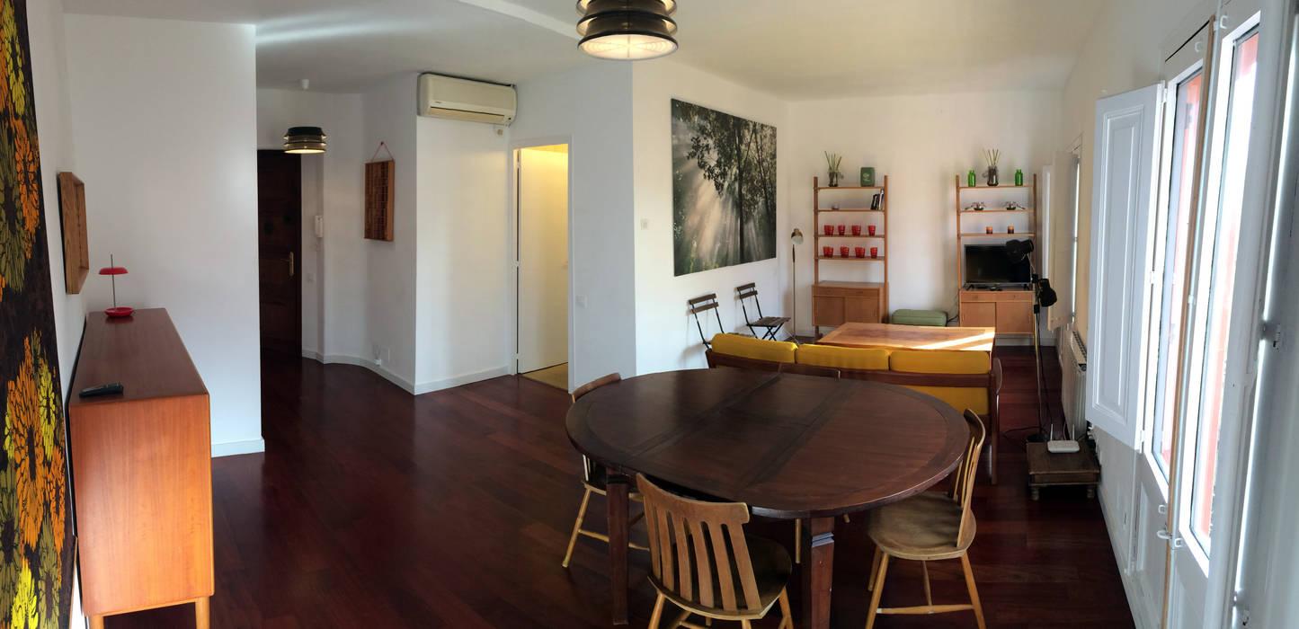 ABCDEstudio Living room Wood Wood effect