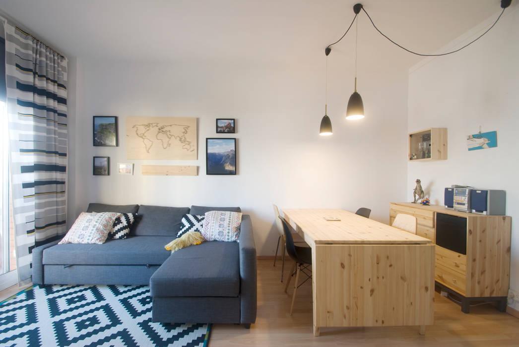 Moderne Esszimmer von demarcasueca Modern Holz Holznachbildung